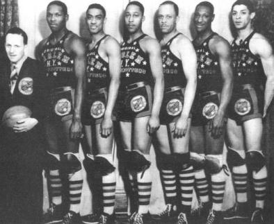 "История легендарных ""Harlem Globetrotters"""