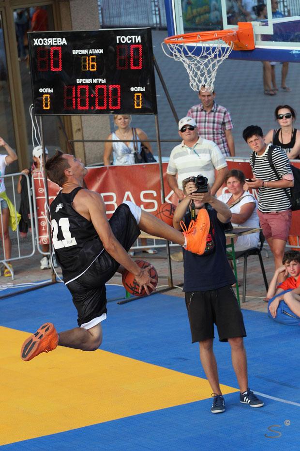 В Одессе прошел праздник уличного баскетбола, фото-4
