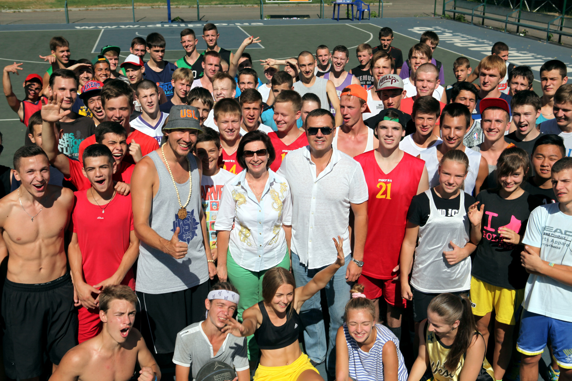 Dnipro Streetball Cup A (Днепропетровск, 8.08.2015)