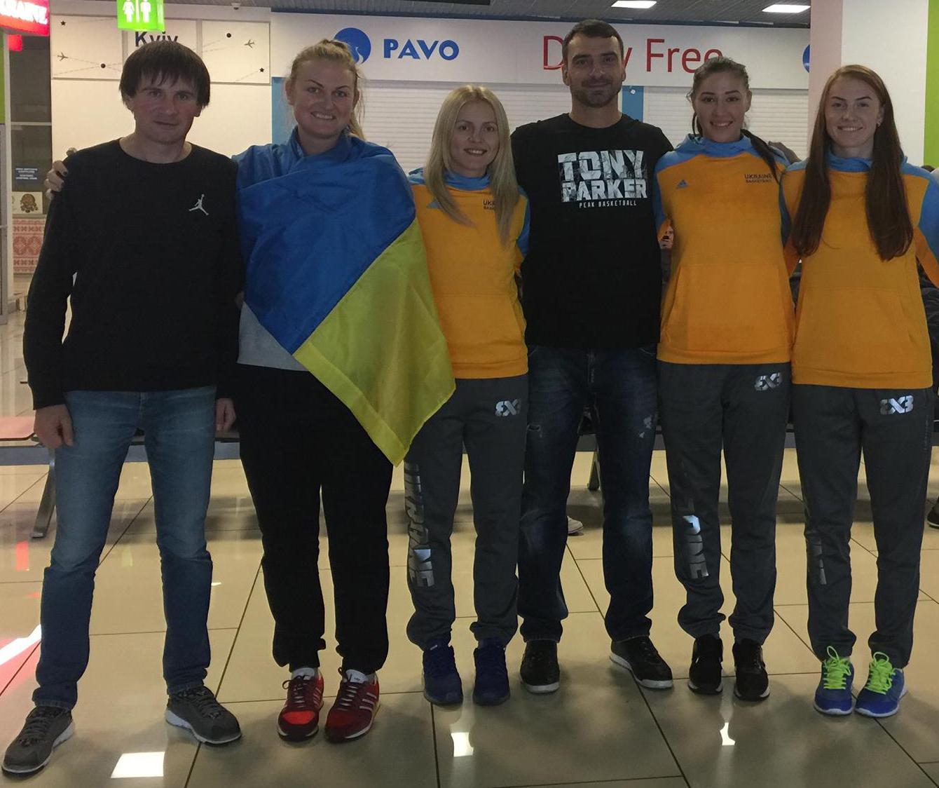 Женская сборная Украины 3х3 готова к Чемпионату Мира