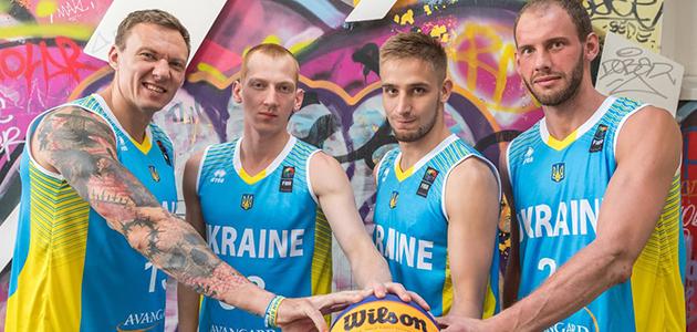 Сборные Украины на чемпионате Мира по баскетболу 3х3